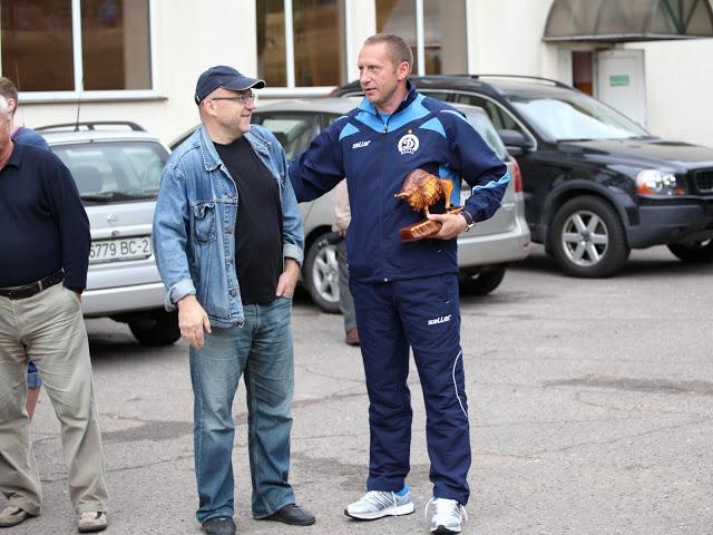 Когда я встречу Павла Кучерова, я тоже подарю ему деревянного зубра...
